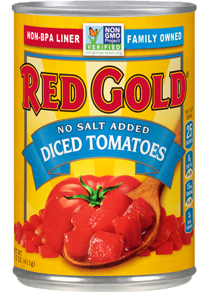 Image of No Salt Added Diced Tomatoes 14.5 oz