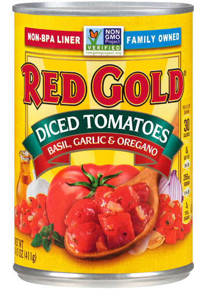Image of Diced Tomatoes Basil, Garlic & Oregano 14.5 oz