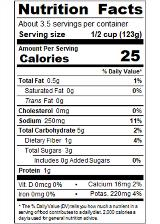 REDBF14_RedGold_DicedBasilGarlicOregano_14.5oz_Nutrition