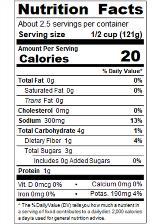 REDBK10_RedGold_OriginalTexMexPetiteDicedGreenChilies_14.5oz_Nutrition