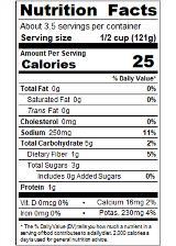 REDBZ14_RedGold_PetiteDicedGreenChiliesLimeCilantro_14.5oz_Nutrition