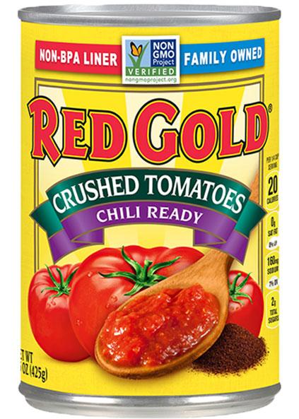 Image of Crushed Tomatoes Chili Ready 15 oz