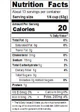 REDH415_RedGold_TomatoPuree_15oz_Nutrition