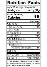 REDHA29_RedGold_TomatoSauce_29oz_Nutrition