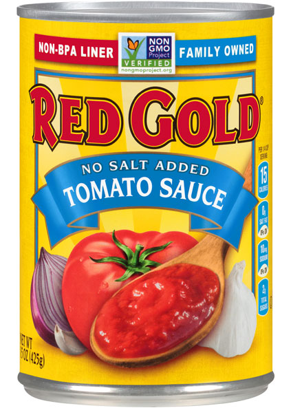 Image of No Salt Added Tomato Sauce 15 oz