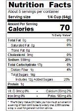 REDLA12_RedGold_SeafoodSauce_12oz_Nutrition