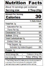 REDUA12_RedGold_TomatoPaste_12oz_Nutrition