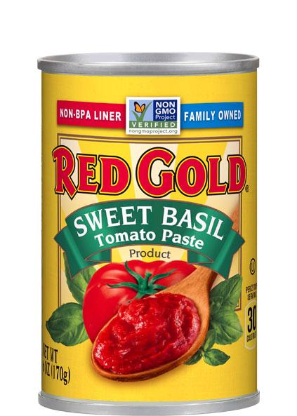 Image of Sweet Basil Tomato Paste 6 oz