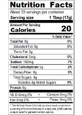 REDYA2R_RedGold_TomatoKetchup_FOH_20oz_Nutrition