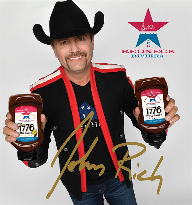Image of John Rich country singer and autograph