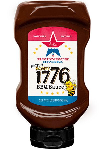 Image of Redneck Riviera Kickin' Honey 1776 BBQ Sauce