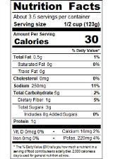 RPKBF14_DicedTomatoesBasilGarlicOregano14_5oz_Nutrition