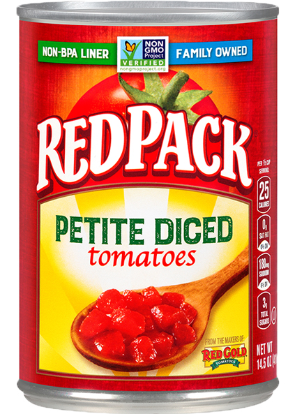 Image of Petite Diced Tomatoes 14.5 oz