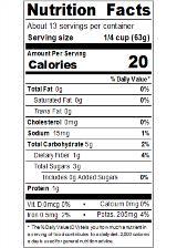 RPKH429_Redpack_TomatoPuree_29oz_Nutrition