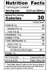 SACVA35_Sacramento_TomatoJuice_5_5oz_Nutrition