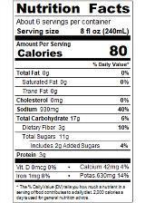 SACZA46_Sacramento_BloodyMaryMix_Can_46oz_Nutrition