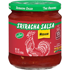 Front image of Red Gold Sriracha Salsa Medium Variety